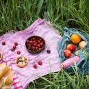 Picknick in der Wiese